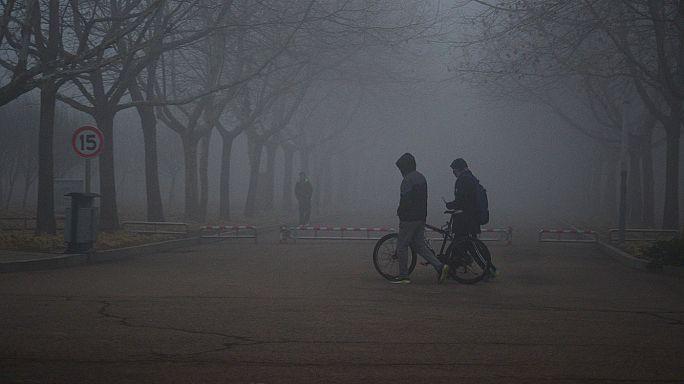 Szmogban fuldoklik Peking
