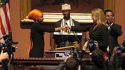 Historic Somali-American female legislator sworn into office