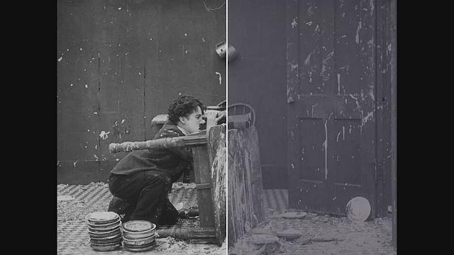 """إعادة الحياة لأفلام شارلي شابلن في مختبر""""إيماجينه ريتروفاتا"""""""