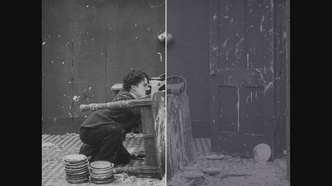 The Italian laboratory restoring the films of Charlie Chaplin