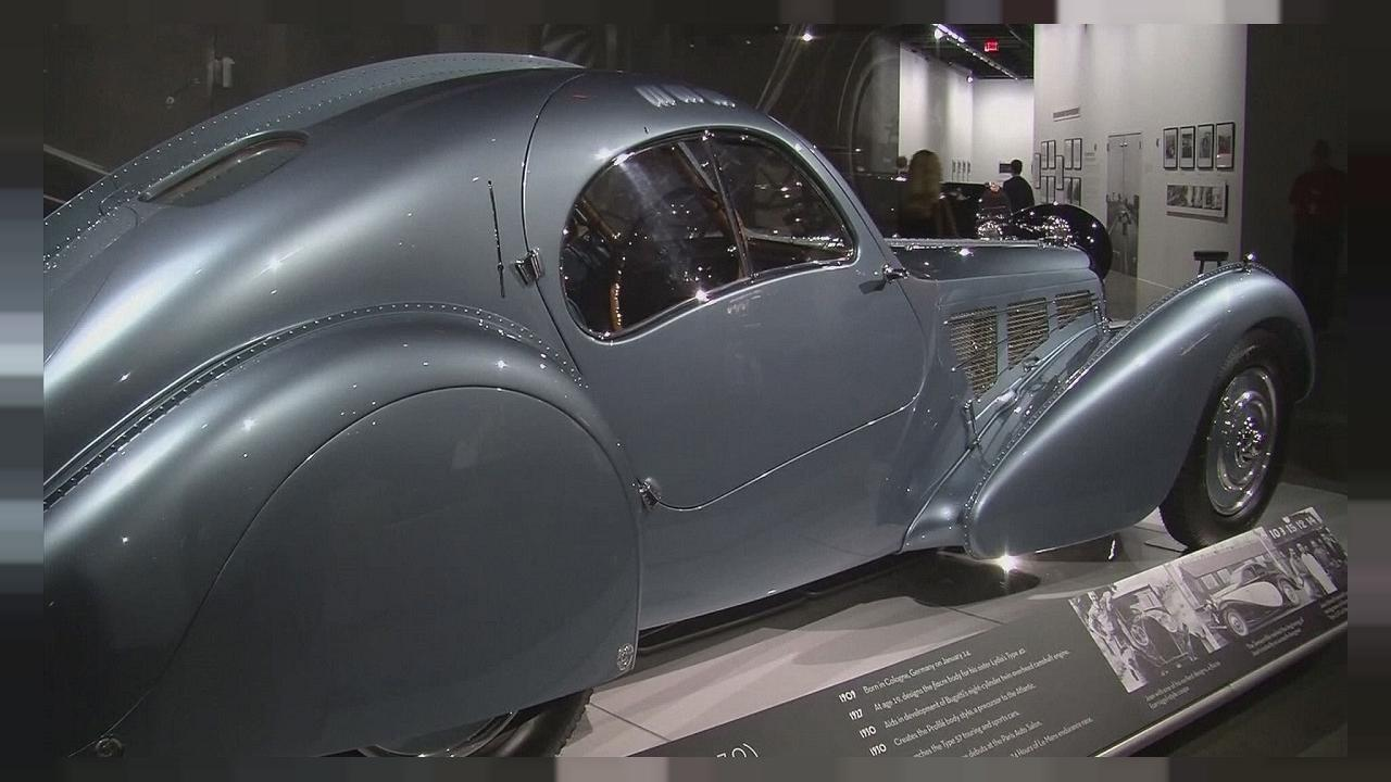 Bugatti sergisi Los Angeles'ta