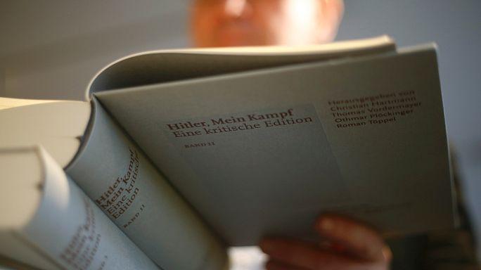 """Nazi lideri Hitler'in kitabı """"Kavgam"""" Almanya'da yok sattı"""