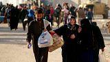 استمرار العمليات العسكرية لاستعادة شرق الموصل