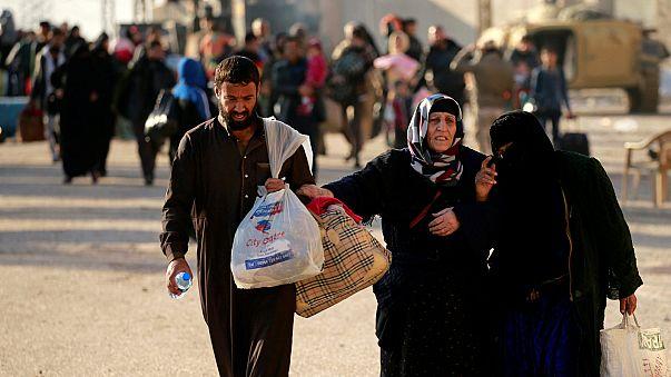 Mossul: 9.000 Flüchtlinge in vier Tagen