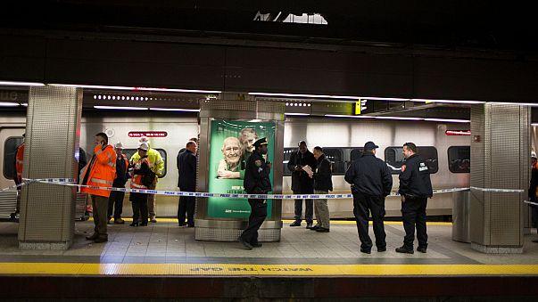 Железнодорожная авария в Нью-Йорке: более 100 раненых