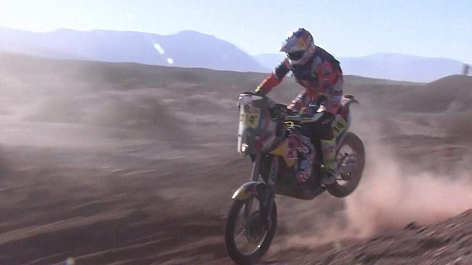 Dakar Rally: Barreda takes stage three and overall race lead