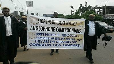 Cameroon civil society urges Anglophone regions to continue protests