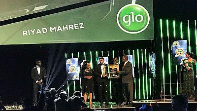 Riyad Mahrez, meilleur footballeur africain de l'année 2016