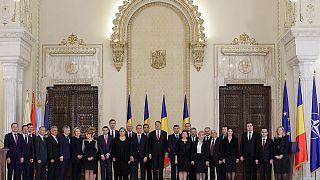 Romanya'da yeni hükümete güvenoyu