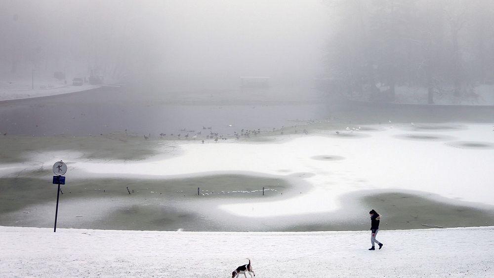 Картинки по запросу Snow storm, strike, Europe