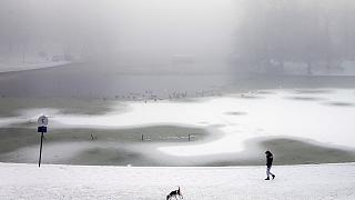 Snow storms strike much of central and eastern Europe