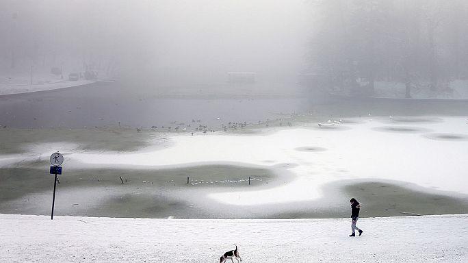 República Checa, Austria, Hungría y Polonia en alerta por el temporal de frío y nieve