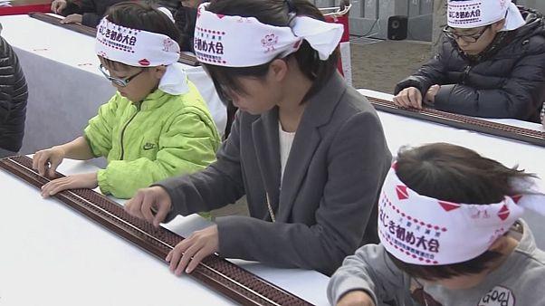 Abakusz-verseny Japánban