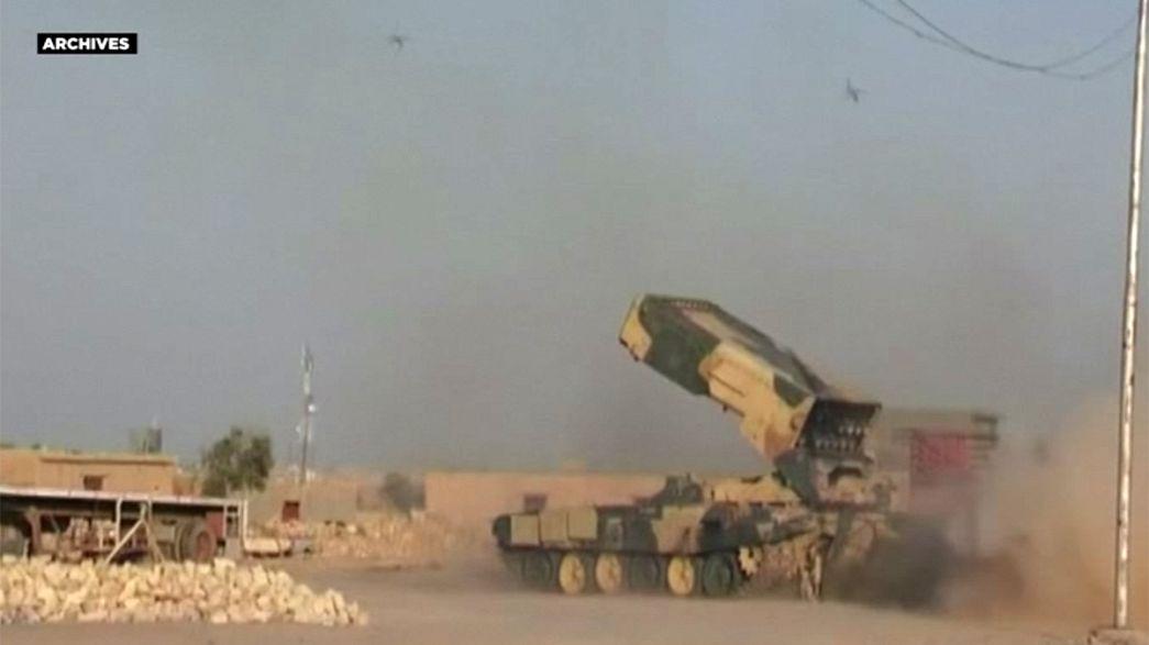 """Иракская армия наступает на позиции """"Исламского государства"""" на западе страны"""