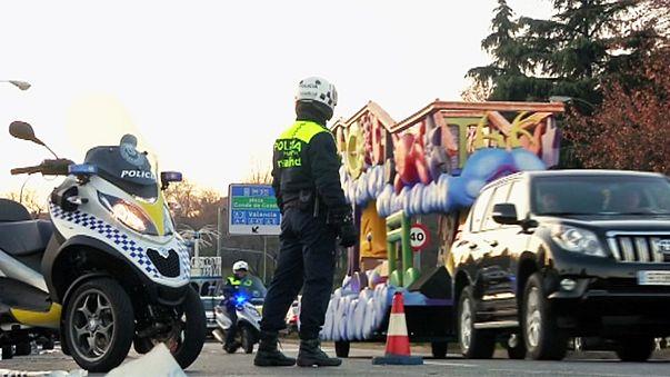 Segurança máxima no desfile do dia de Reis em Madrid e Barcelona