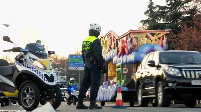 İspanya'da Üç Kral Bayramı etkinlikleri için yoğun güvenlik önlemleri