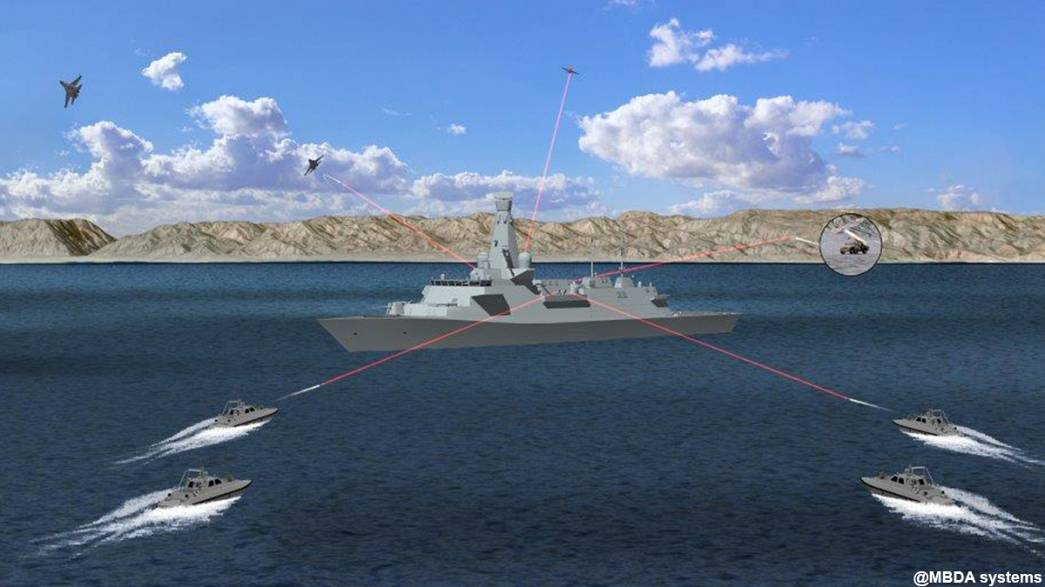 British military seeks laser gun