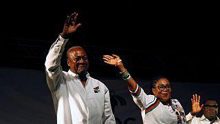 Ghana: John Dramani Mahama souhaite ''l'unité'' à son départ de la présidence