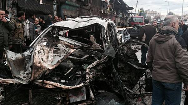 Véres robbantás a szíriai Latakiában