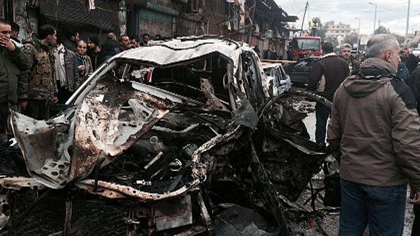 Un coche bomba causa al menos nueve muertos en la provincia siria de Latakia