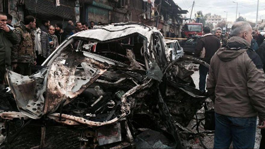 Siria: autobomba nella roccaforte di Bashar al Assad