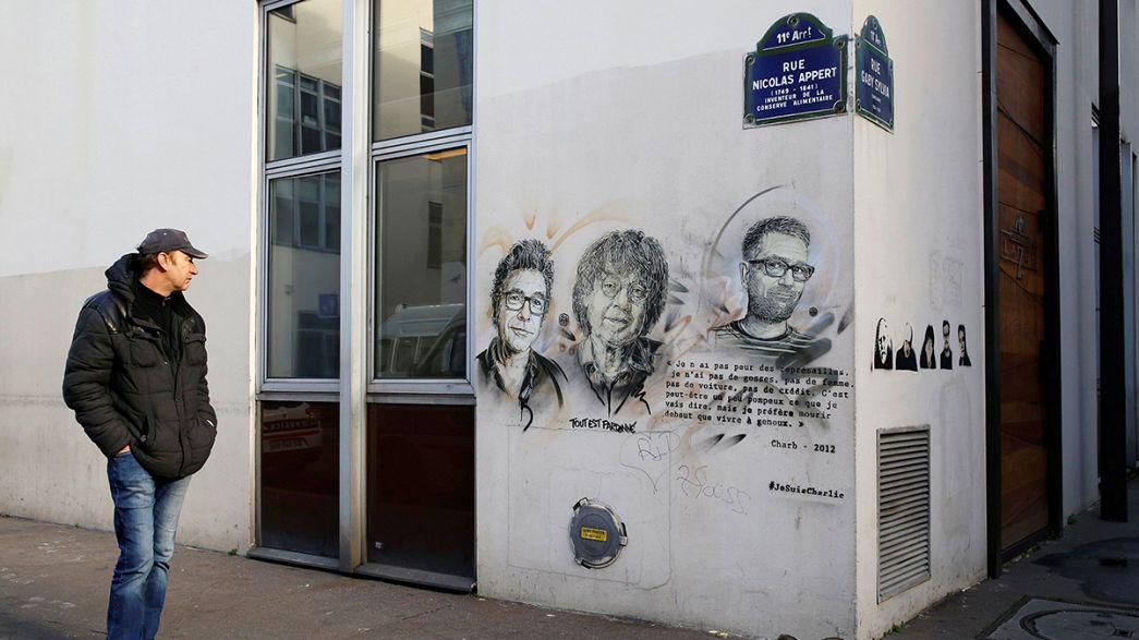 Europa continua em sobressalto dois anos após o massacre do Charlie Hebdo
