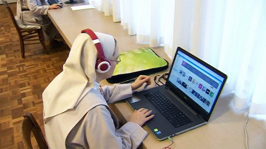 Nuns have fun on YouTube