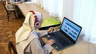 Nuns have fun on YouTube
