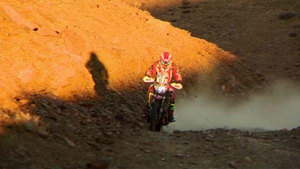 سباق ايكو رايس افريقيا : جيف تيدي يحافظ على صدارة سباق الدراجات النارية خلال المرحلة الرابعة