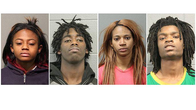 Accusati di odio razziale i quattro afro-americani che hanno torturato un giovane bianco disabile
