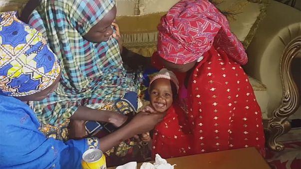 Újabb chiboki lány szabadult ki a fogságból