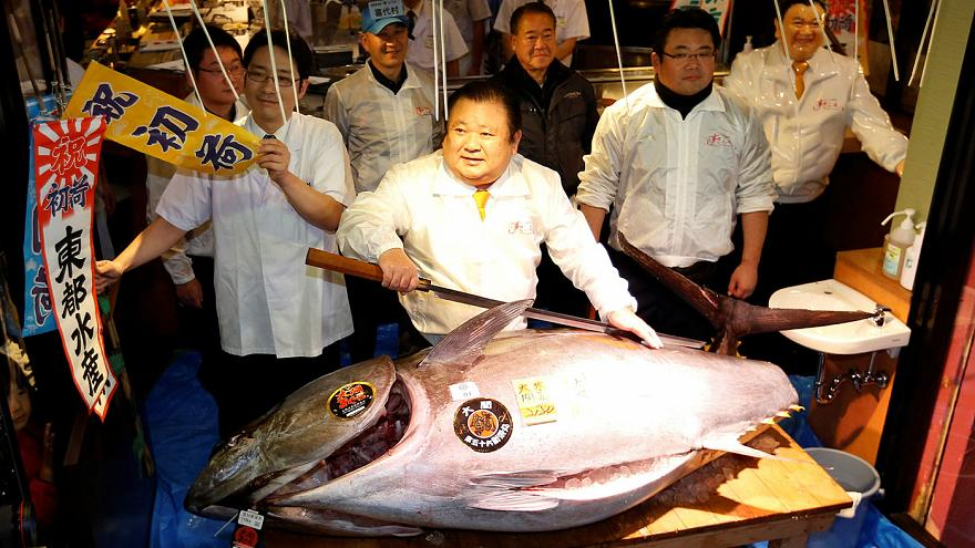 Japonya: Suşi restoranı orkinos için 614,000 Dolar ödedi
