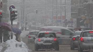 Hatalmas havazás Boszniában, sarki ciklon Koszovóban