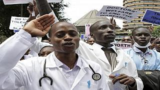 Kenya's striking doctors reject pay rise offer