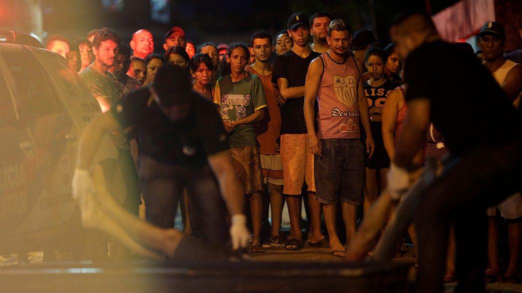Бразилия: 33 заключенных найдены мёртвыми