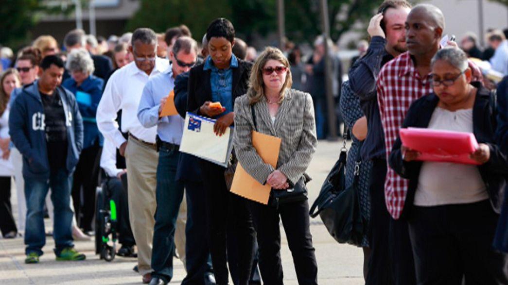 Légère hausse du chômage aux Etats-Unis