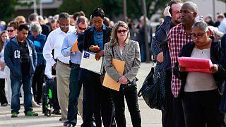 کاهش حجم اشتغالزایی و افزایش نرخ بیکاری در آمریکا