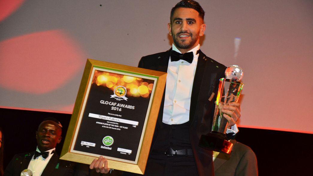 Riyad Mahrez eleito futebolista africano de 2016