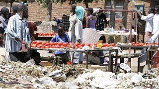 Zimbabwe : interdiction de la vente de nourriture à la sauvette à cause de la typhoïde