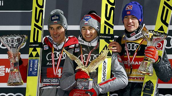 Stoch claims prestigious Four Hills title with Bischofshofen victory
