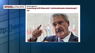 Luxemburgo considera que la posición de Austria con respecto a la inmigración es ultraderechista