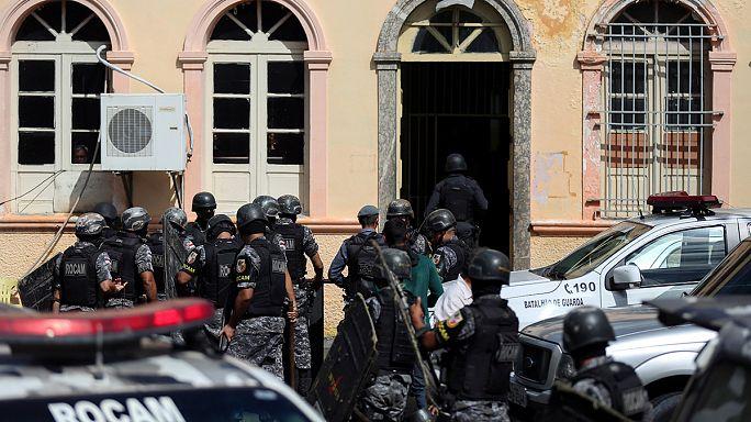 شورش در زندانی در برزیل ۳۳ کشته برجا گذاشت