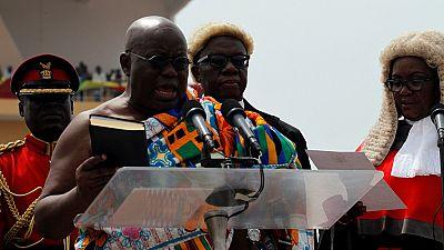 Nana Akufo-Addo investi nouveau président au Ghana