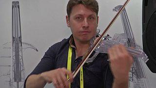 """""""Отпечатанная"""" скрипка"""