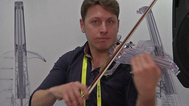 Un violín impreso en 3D