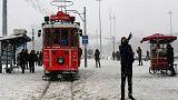İstanbul'da kar kalınlığı bir metreyi geçti
