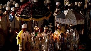 Ethiopians unite to celebrate Christmas at iconic town of Lalibela