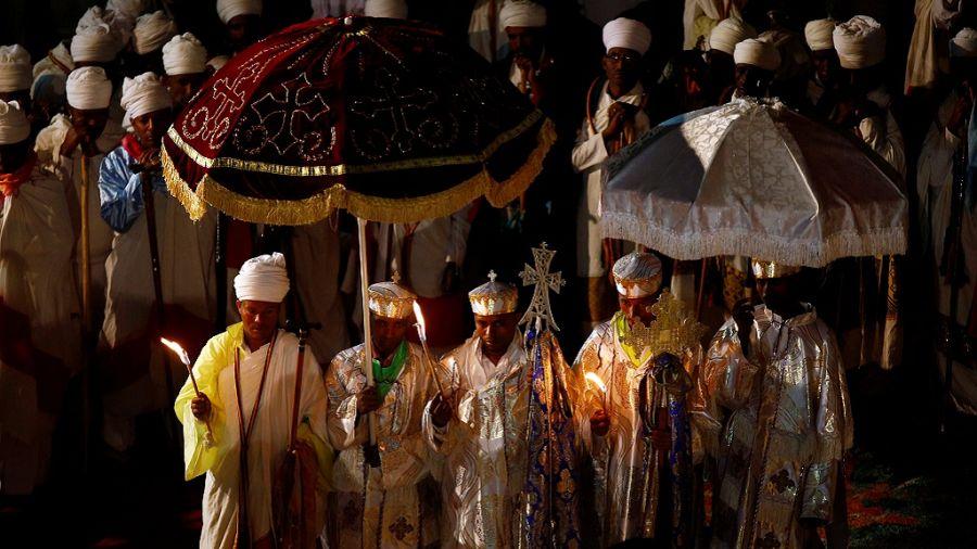 Ethiopians unite to celebrate Christmas at iconic town of Lalibela | Africanews