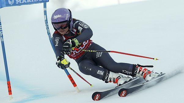 التزلج الألبي: فرنسا تحصد الذهب في فئة النساء