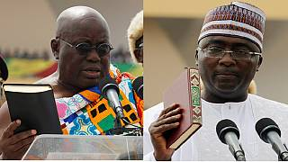 [Photos] Colour & tradition meet politics as Ghana swears in President